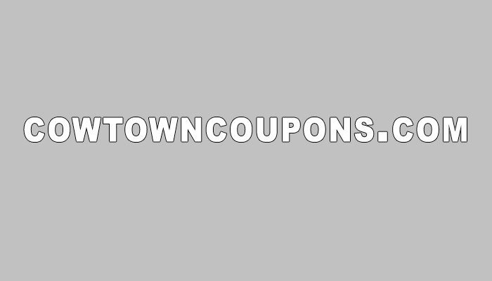 cowtowncoupons.com Eli Waters